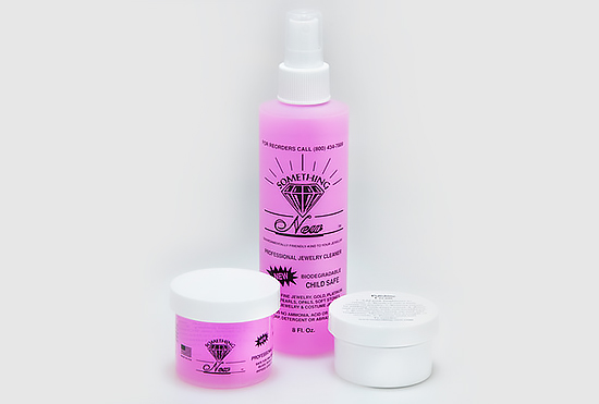 Pink Jewelry Cleaner