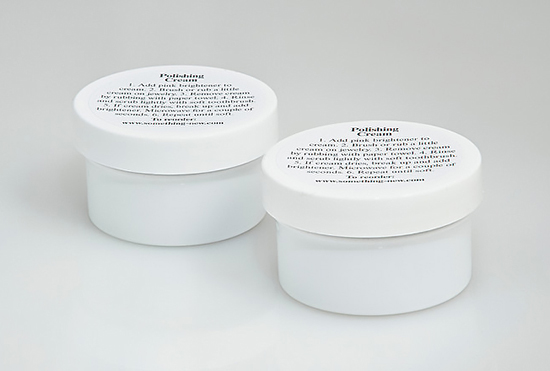 Two - 1.5 Ounce Tarnish Remover Cream