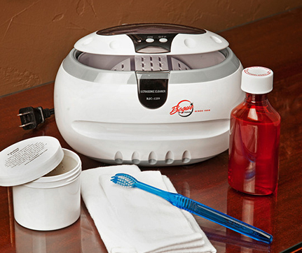 Something New Jewelry Cleaner & Tarnish Remover with Ultrasonic Cleaning Machine