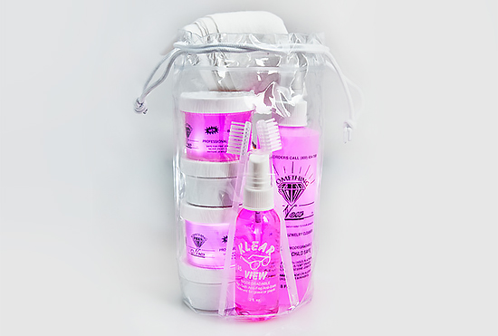 Deluxe Gift Bag of Jewelry Cleaner & Tarnish Remover Products